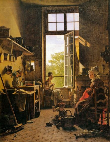 Martin_Drolling_-_Interior_of_a_Kitchen_(detail)_-_WGA6679